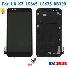 For LG K7 K330 MS330 LS675 LCD Screen Display Touch Digitizer Replacement+Frame