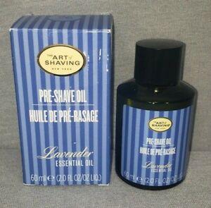 The Art of Shaving Pre-Shave Oil Lavender 2 Oz. New Sealed