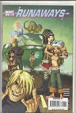 RUNAWAYS (2008) #1 through 7 SET TERRY MOORE HUMBERTO RAMOS plus  HULU TV SHOW!