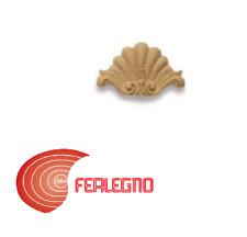 FREGIO IN PASTA DI LEGNO PER MOBILI ANTICHI 90X60MM ART.MG10901 METAL STYLE