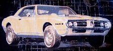 Fabulous 1960s Pontiac Firebird, Dodge Charger Muscle Cars Hawaiian shirt LARGE
