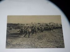 VINTAGE A GERMAN CHARGE FIXED BAYONETS Chicago daily news postcard postals