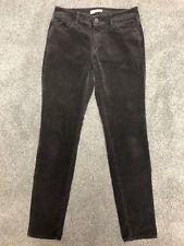 Ann Taylor LOFT Curvy Skinny Gray Corduroy Jeans Sz 27 / 4 (WW#1782)
