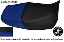 Royal blue & Negro Personalizado de vinilo cabe Honda CB 750 Nighthawk Doble Cubierta de asiento solamente