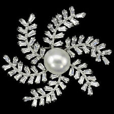 Natural Diamond Fine Brooches & Pins