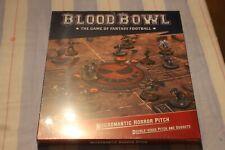 Games Workshop BloodBowl nigrománticas horror Pitch y piragua Set Nuevo Y En Caja Nuevo Sellado