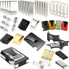 Различные формы тонкий карман бумажник ID кредитной карты держатель радиочастотная идентификация зажим для денег кошелек новый