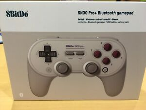 8Bitdo Sn30 Pro+ Bluetooth Gamepad NEW! (Sn Edition) - Switch, PC, Android, Mac