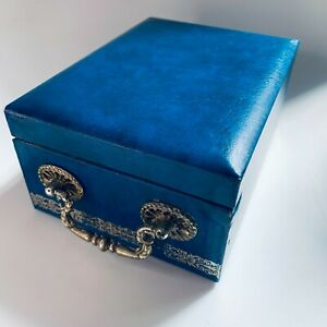 By appointment to the Swedish Royal Court, Design Philipp, Blue Jewellery Box