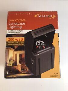 Intermatic MALIBU 200 Watt Power Pack - Low Voltage Transformer ML200RT NEW