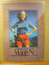 vintage Young Marilyn Monroe Poster original poster classic 1988 5454