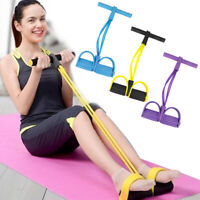 Foot Pedal Pull Rope Resistance Exercise Yoga Fitness Equipment Sit-up Sanwood