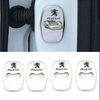 4PCS Peugeot 207 301 308 508 3008 RCZ Capot protection Acier surfin Emblème