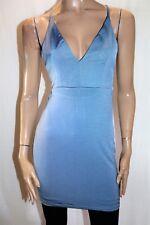 MORNING MIST Brand Grey Blue Sleeveless Bodycon Dress Size 10 BNWT #SF48