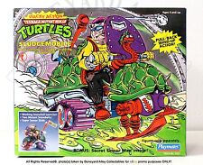 TMNT 1990 WACKY ACTION SLUDGEMOBILE VEHICLE, Playmates MISB*RARE*NEW
