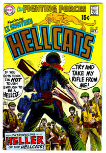 OUR FIGHTING FORCES #121 in VF/NM 1969 DC WAR comic LT. Hunter  intro HELLER