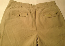 EUC - As New - RRP $179 - Mens Banana Republic Striped Cotton Beige Light Pants