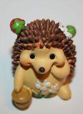 Dekoration Tierfigur Igel Lustiger Igel 4 cm h  Polyresin Deko Figur