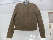 Warehouse Jacket Brown Cotton Corduroy Size 12