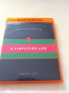 A SIMPLIFIED LIFE TACTICAL TOOLS FOR INTENTIONAL LIVING MP3 AUDIO CD EMILY LEY