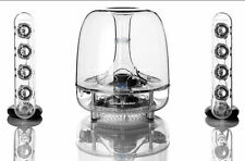 Harman Kardon SoundSticks Wireless/Bluetooth 2.1 Home Speakers NEW