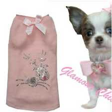 Gr. XXS Chihuahua Winter Hundemode Hundemantel Hundepullover Fleece BEBE RENTIER