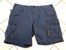 Polo Ralph Lauren Cargo Shorts Men 36 Classic Fit Ripstop Navy Blue NWT $89