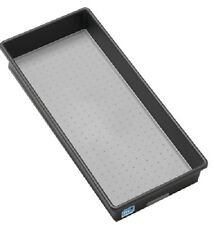 "Madesmart 2 Pack, 15"" x 6"" x 2"", Granite Bin, For Kitchen Storage & Organization"