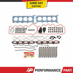 Head Gasket Bolts Set for 07-12 Ford Expedition F Series Lincoln 5.4 V5 TRITON