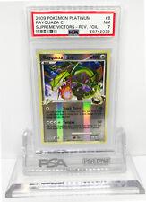 Pokemon Platinum Supreme Victors RAYQUAZA C 8/147 Reverse Holo Foil PSA 7 NM