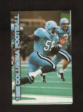Columbia Lions--1998 Football Pocket Schedule--Pepsi