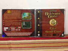 Baldur's Gate: Tales of the Sword Coast (PC, 1999) CASE & MANUAL ONLY NO GAME