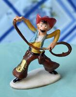 """Vintage Marx Toys Disneykins PECOS BILL Figure 1"""" Plastic Hand Painted 1961"""