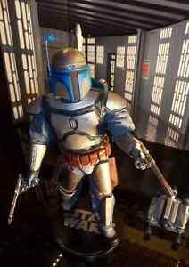 1/6 Star Wars.Jango Fett Boba Fett Figure Please read info Nice