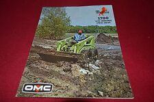 Owatonna Mustang 1700 Skid Steer Loader Dealer's Brochure YABE11 ver2