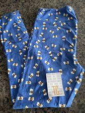 Lularoe TC blue bumblebees NWT leggings