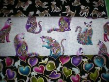 CAT-I-TUDE, DOG-ON-IT & HORSEN AROUND - Panels & Matching Fabrics - Benartex.