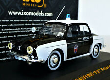 "1/43 IXO Renault Dauphine ""PIE"" Police de Paris. Mint and boxed. CLC162."