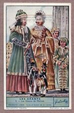 Giants In Belgian Parades And Festivals Malines Belgium 75+ Y/O Trade Ad Card
