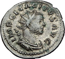 TACITUS Original 275AD Lyons Mint Authentic Ancient Roman Coin SALUS i65561