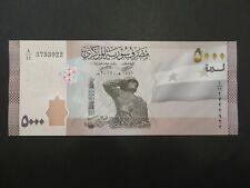 Banknote Syrien  5.000 Pounds NEU 2019/21 kassenfrisch (UNC)