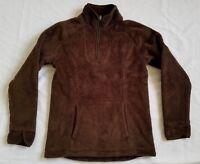 Lands End Kids Fleece Bear Jacket, Brown Size L Large 14 (B4)