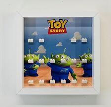 Marco vitrina Minifigura Lego Toy Story Minifiguras Figuras 7594 Buzz Woody