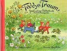 "Ein lustiges Bilderbuch v. Fritz Baumgarten ""Teddys Traum"", Titania-Verlag,neu"
