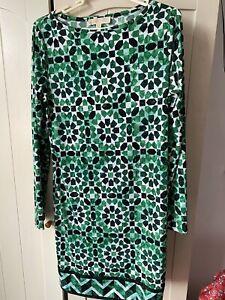 MIchael Kors Green Patterned Dress UK 12