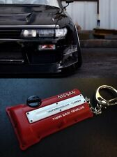 Nissan Style Silvia S13 S14 S15 SR20DET JDM Red Engine cover keychain
