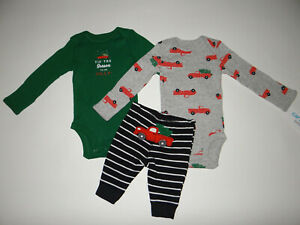 NWT, Baby boy clothes, 3 months, Carter's holiday set/    ~~SEE DETAILS ON SIZE~