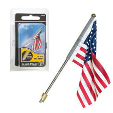 Woodland Scenics JP5955 Just Plug - Large US Flag - Wall Mount
