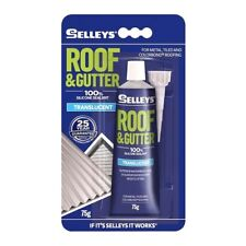 Selleys Roof & Gutter Silicone Sealant 75g Translucent