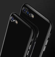 Ultra fin NOIR DE JAIS Coque résistant aux chocs TPU Silicone coque pour iPhone